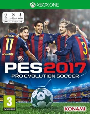 Pro Evolution Soccer 2017 til Xbox One
