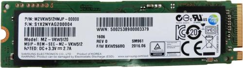 Samsung SM961 512 GB