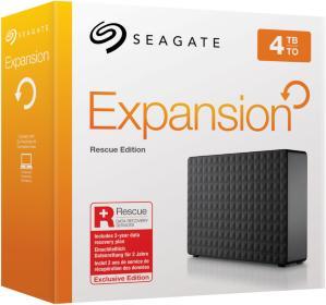 Seagate Expansion Desktop 4TB Rescue Edition