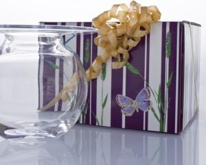 Magnor Glassverk Boblen Vase 160mm