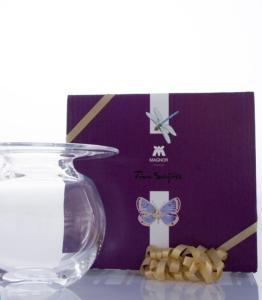 Magnor Glassverk Boblen Vase 120mm