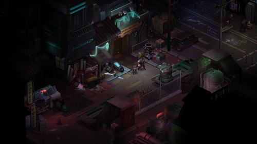 Shadowrun: Dragonfall til Mac