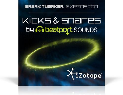 iZotope BreakTweaker Kicks and Snares