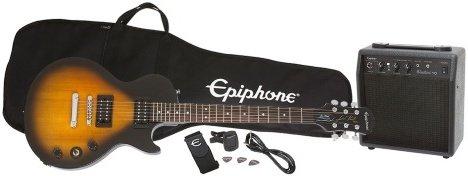 Epiphone Les Pauls Player Pack (alt inkludert)