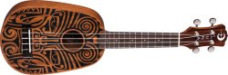 Luna Ukulele Tribal Pineapple