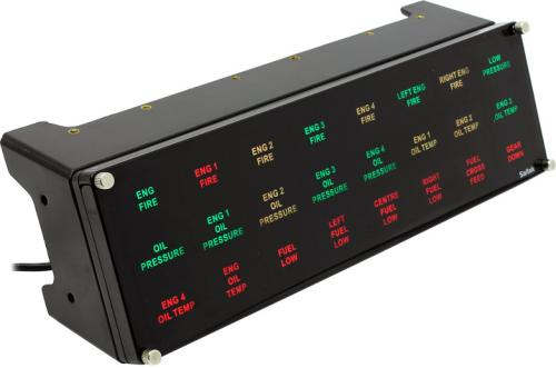 Saitek Pro Flight BIP Backlit Information Panel