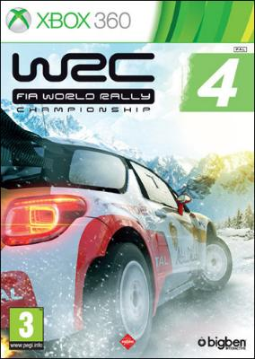 WRC FIA World Rally Championship 4	 til Xbox 360