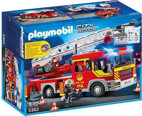 Playmobil City-Action Stigebil med lys-&-lyd