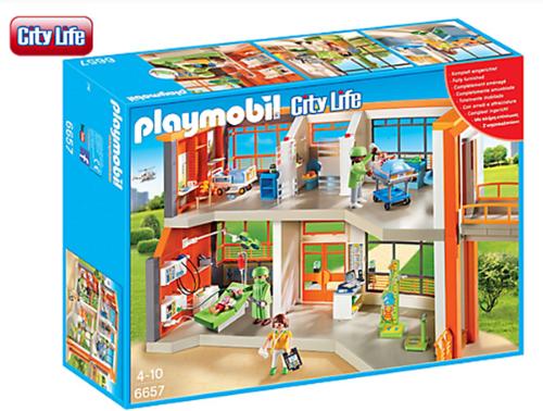 Playmobil Furnished Children's Hospital 6657