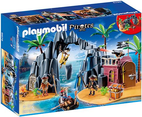 Playmobil Pirate Treasure Island 6679
