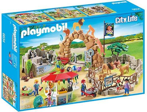 Playmobil City Life Stor Dyrehage 352-6634