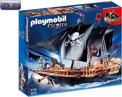 Playmobil Pirate Raiders' Ship 6678