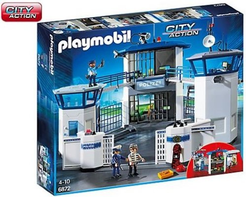 Playmobil Police headquarter with prison 6872