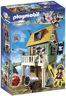 Playmobil Super 4, Kamuflert piratfort