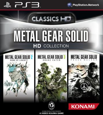 Metal Gear Solid HD Collection til PlayStation 3