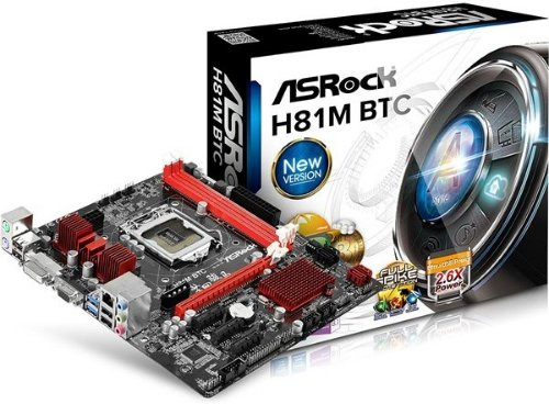 ASRock H81M BTC