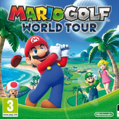 Mario Golf World Tour til 3DS