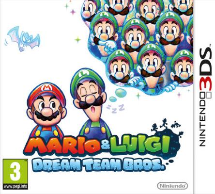 Mario & Luigi: Dream Team Bros. til 3DS