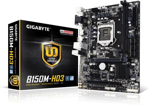 Gigabyte GA-B150M-HD3 DDR4
