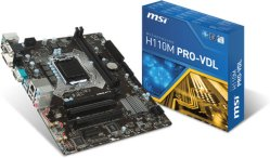 MSI H110M PRO-VDL
