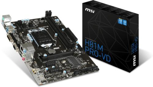 MSI H81M Pro-VD