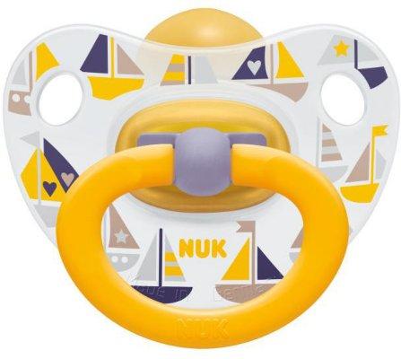 Nuk Happy Kids Latex Smokk 18-36m