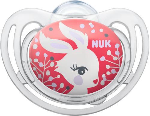 Nuk First Choice Silikon Smokk Str 2