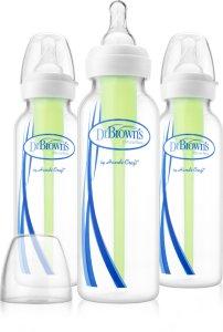 Dr.Brown's Options 3-Pack Tåteflasker 250ml