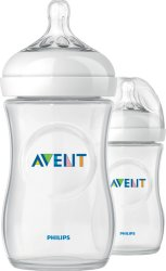 Philips Avent 2-Pack Natural Flaske 260ml