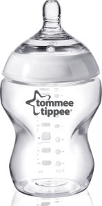 Tommee Tippee Transparent Tåteflaske 260ml