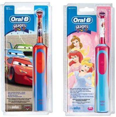 Oral-B Stages Power Elektrisk Tannbørste 2-pack
