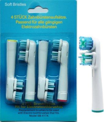 Oral-B Dual Clean 4 Pack
