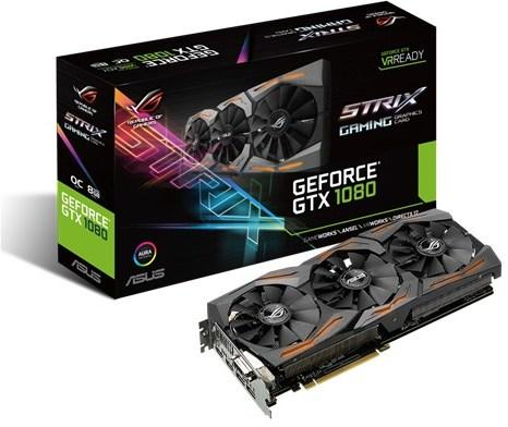 Asus GeForce GTX 1080 Strix Gaming OC (O8G)