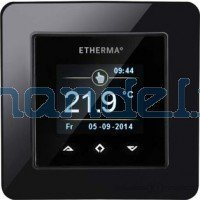 Etherma eTouch mini ECO med termostat 5404698 (sort)