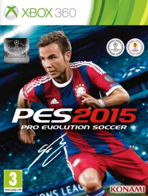 Pro Evolution Soccer 2015 til Xbox 360
