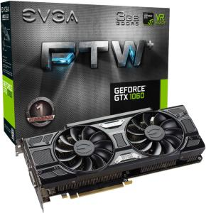 EVGA GeForce GTX 1060 3GB FTW+ GAMING