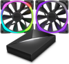 NZXT Aer RGB140 & Hue+ (RF-AR140-C1)