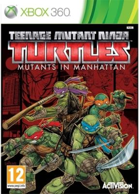 Teenage Mutant Ninja Turtles: Mutants in Manhattan til Xbox 360
