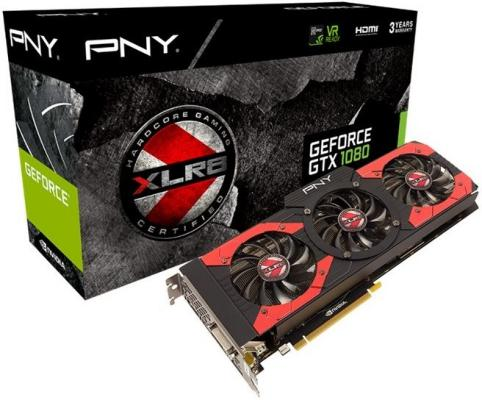 PNY GeForce GTX 1080 XLR8 OC Gaming 8GB