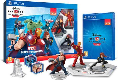 Disney Infinity 2.0 Marvel Super Heroes startpakke til Playstation 4