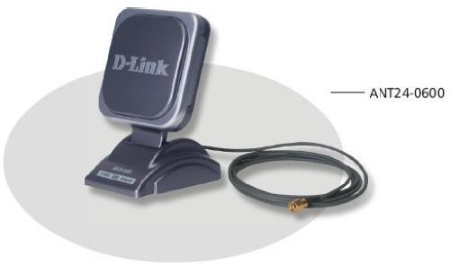 D-Link ANT24-0600 Innendørs 6dBi antenne