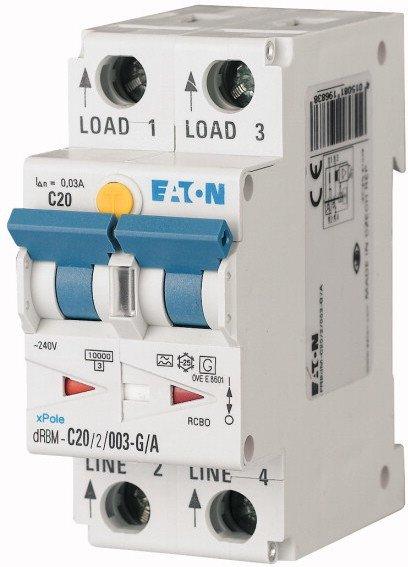 Eaton jordfeilautomat digital 15A 15/2/C/003-G/A