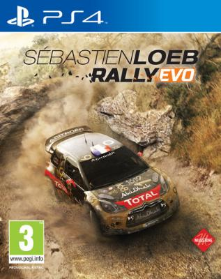 Sébastien Loeb Rally Evo til Playstation 4