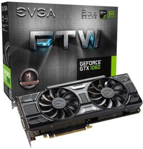 EVGA GeForce GTX 1060 FTW Gaming 6GB
