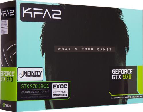 KFA2 GeForce GTX 970 4GB Black Edition