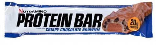 Nutramino Protein Bar Crispy Chocolate Brownie 12 stk