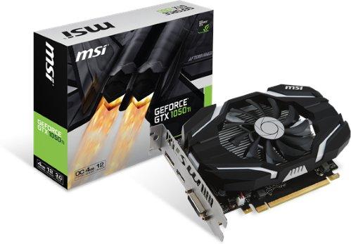 MSI GeForce GTX 1050 Ti 4GB OC
