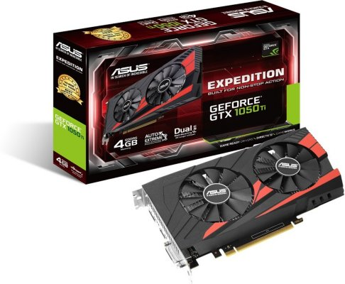 Asus GeForce GTX 1050 Ti Expedition 4GB