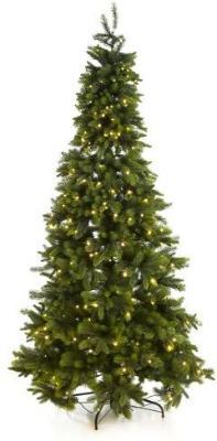 Juletre H:210 cm Nordisk Gran med 380 Ledlys