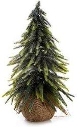 Enjoy juletre med glitter 33cm